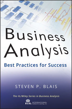 Business Analysis: Best Practices for Success (1118161556) cover image