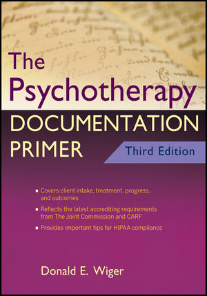 The Psychotherapy Documentation Primer, 3rd Edition (1118167856) cover image