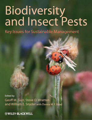 Biodiversity and Insect Pests: Key Issues for Sustainable Management (1118231856) cover image