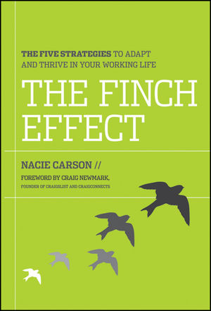 The Finch Effect: The Five Strategies to Adapt and Thrive in Your Working Life (1118238656) cover image