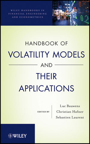Handbook of Volatility Models and Their Applications (1118272056) cover image