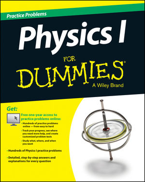 wiley physics i practice problems for dummies free online practice consumer dummies. Black Bedroom Furniture Sets. Home Design Ideas