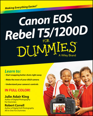 Canon EOS Rebel T5/1200D For Dummies (1118933656) cover image