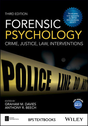 Forensic Psychology: Crime, Justice, Law, Interventions, 3rd Edition (1119106656) cover image