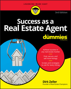 Success as a Real Estate Agent For Dummies, 3rd Edition (1119371856) cover image