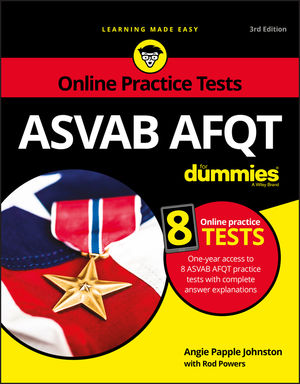 ASVAB AFQT For Dummies: With Online Practice Tests, 3rd Edition