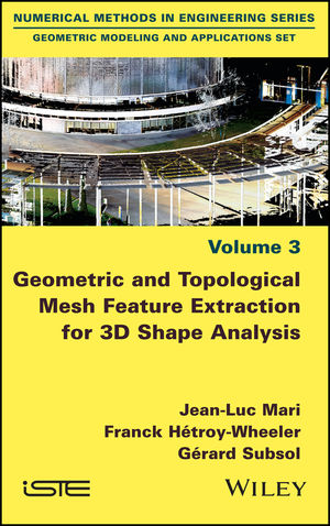 Geometric and Topological Mesh Feature Extraction for 3D Shape Analysis