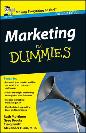 Marketing For Dummies, WHS Travel Edition, 2nd UK Edition
