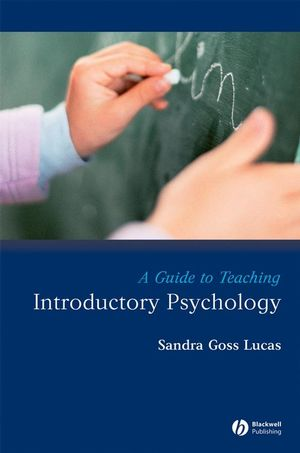 A Guide to Teaching Introductory Psychology (1444301756) cover image