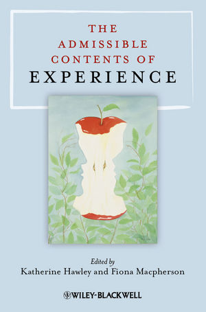 The Admissible Contents of Experience (1444333356) cover image