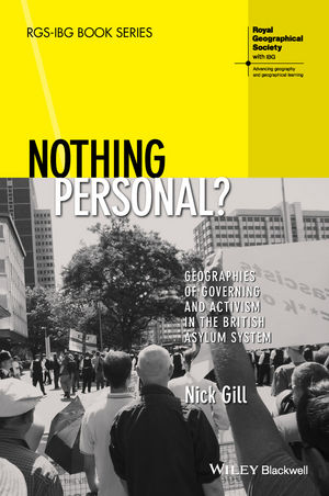 Nothing Personal?: Geographies of Governing and Activism in the British Asylum System (1444367056) cover image