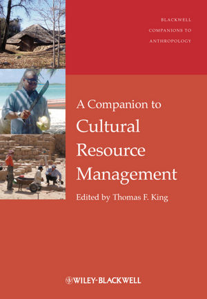 A Companion to Cultural Resource Management (1444396056) cover image