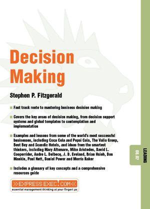 Decision Making: Leading 08.07