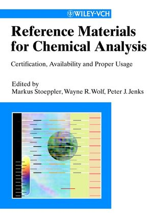 Reference Materials for Chemical Analysis: Ceritification, Availability and Proper Usage (3527613056) cover image