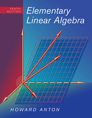 Elementary Linear Algebra, 10th Edition (EHEP002156) cover image