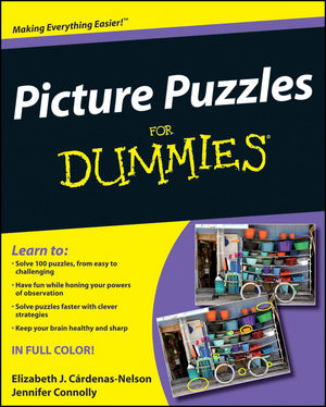 Picture Puzzles For Dummies (0470506857) cover image
