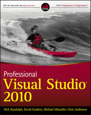 Professional Visual Studio 2010 (0470548657) cover image