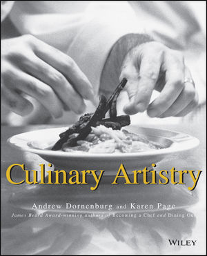 Culinary Artistry (0471287857) cover image