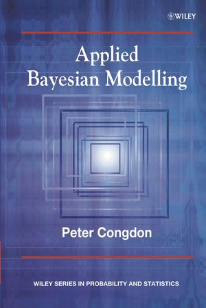 Applied Bayesian Modelling  (0471486957) cover image