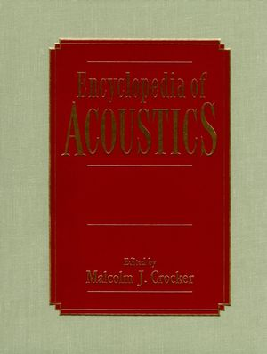 Encyclopedia of Acoustics, 4 Volume Set (0471804657) cover image