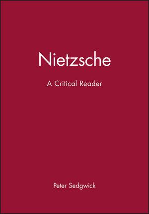 Nietzsche: A Critical Reader (0631190457) cover image