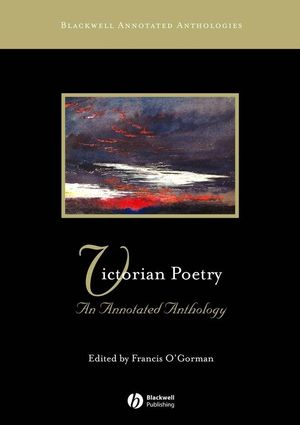 Victorian Poetry: An Annotated Anthology (0631234357) cover image
