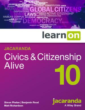 LearnOn Civics & Citizenship Alive 10 (Online Purchase)
