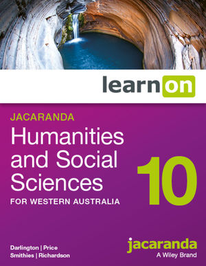 Jacaranda Humanities and Social Sciences 10 learnON for Western Australia (Online Purchase)