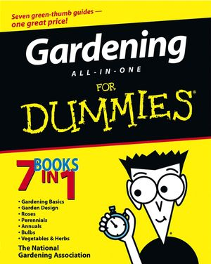 Gardening All in One for Dummies Book