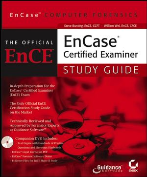 EnCase Computer Forensics: The Official EnCE: EnCaseCertified Examiner Study Guide (0782144357) cover image