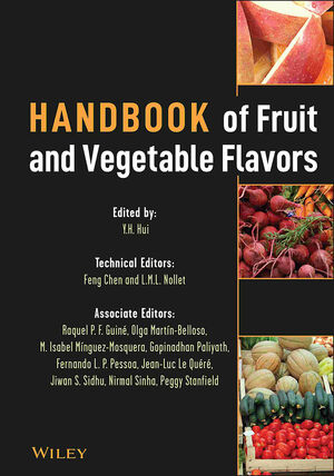 Handbook of Fruit and Vegetable Flavors (1118031857) cover image