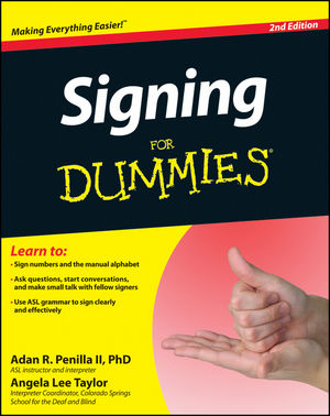 Signing For Dummies, 2nd Edition (1118237757) cover image