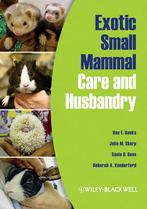 Exotic Small Mammal Care and Husbandry (1118708857) cover image
