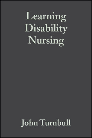 Learning Disability Nursing (1405147857) cover image