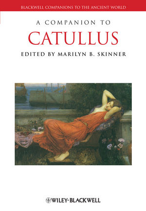 A Companion to Catullus (1444339257) cover image