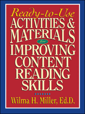 Ready-to-Use Activities & Materials for Improving Content Reading Skills (0130078158) cover image