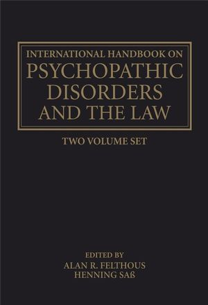 International Handbook on Psychopathic Disorders and the Law, 2 Volume Set (0470011858) cover image