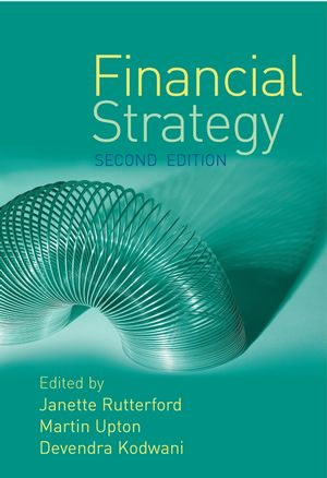 Financial Strategy, 2nd Edition (0470016558) cover image