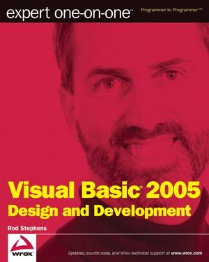 Expert One-on-One Visual Basic 2005 Design and Development (0470136758) cover image
