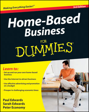 Home-Based Business For Dummies , 3rd Edition (0470538058) cover image