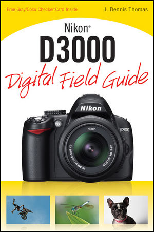 Nikon D3000 Digital Field Guide (0470616458) cover image