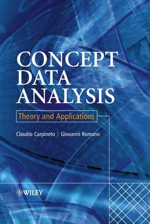 Concept Data Analysis: Theory and Applications (0470850558) cover image