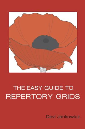 The Easy Guide to Repertory Grids (0470871458) cover image