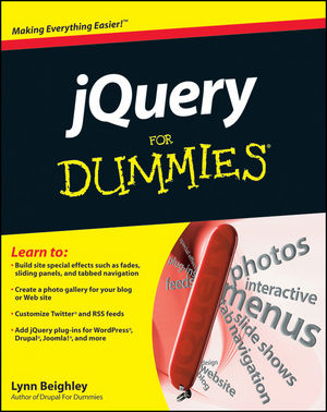 jQuery For Dummies (0470877758) cover image