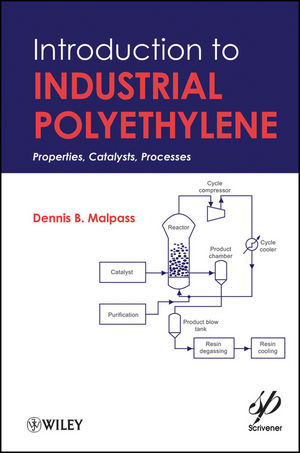 Introduction to Industrial Polyethylene: Properties, Catalysts, and Processes (0470900458) cover image