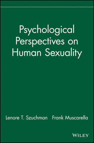 Psychological Perspectives on Human Sexuality (0471244058) cover image