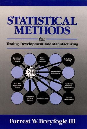 Statistical Methods for Testing, Development, and Manufacturing (0471540358) cover image