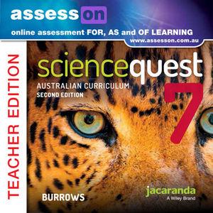 Assesson Science Quest 7 Australian Curriculum Edition Teacher Edition 2E (Online Purchase)