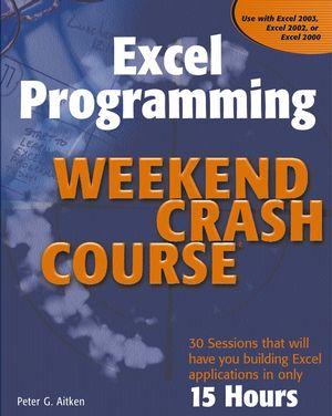 Excel Programming Weekend Crash Course