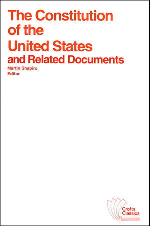 The Constitution of the United States and Related Documents (0882950258) cover image